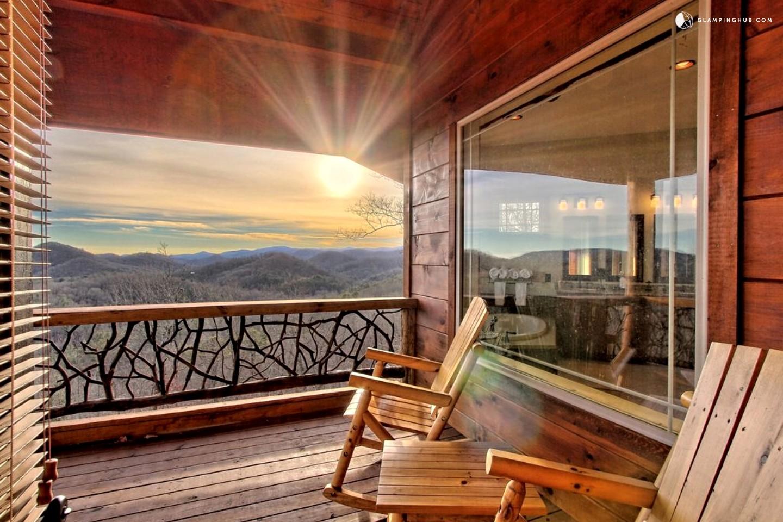 Luxury Cabin Near Lake Burton Georgia