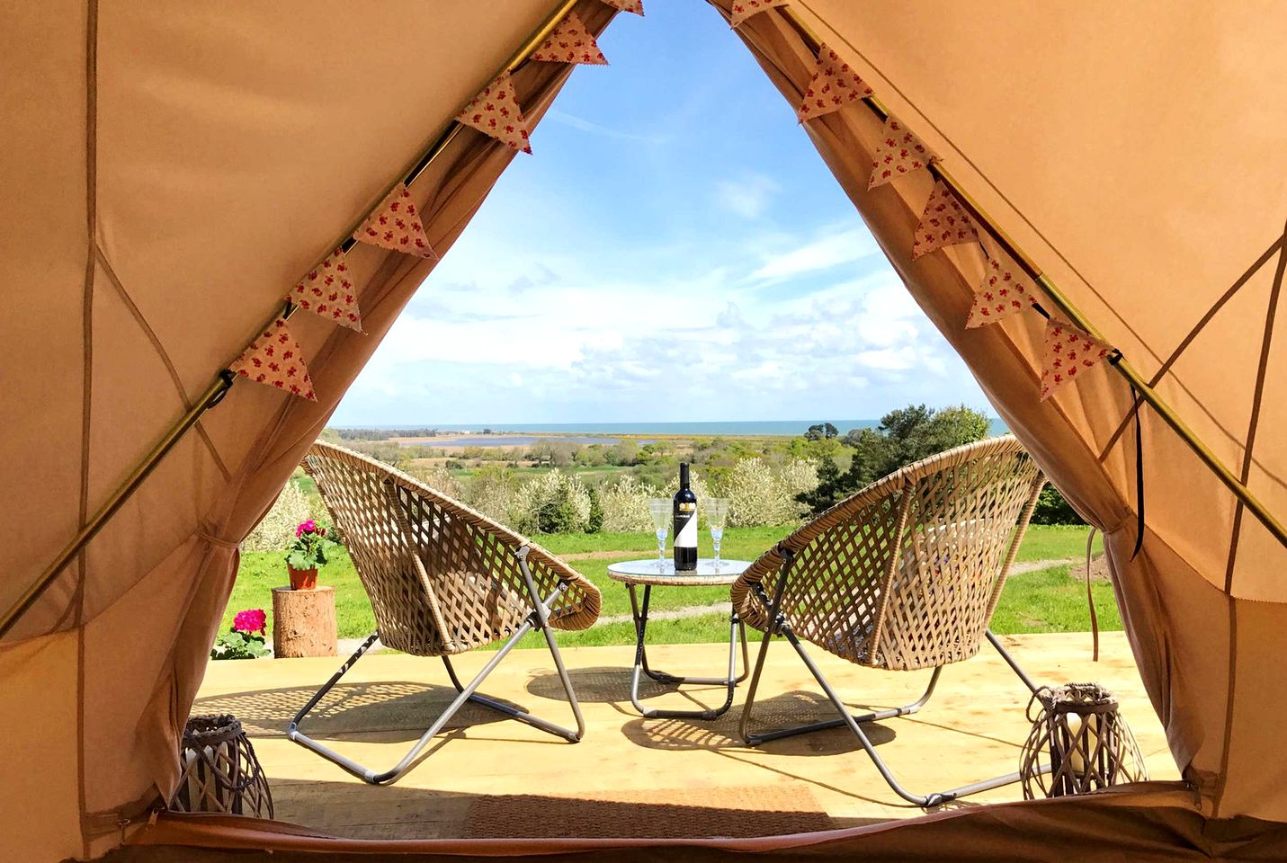 Bell Tents (Wicklow Town, County Wicklow, Ireland)