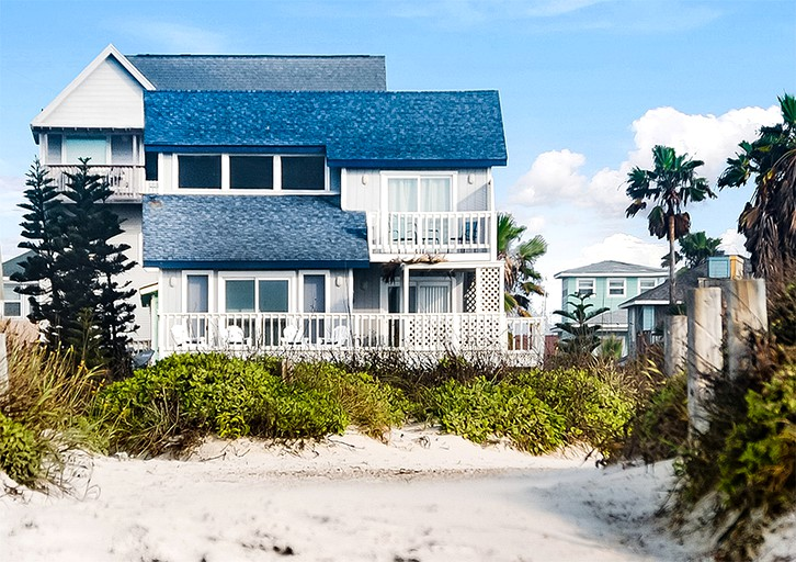 Enjoyable Gorgeous Oceanfront Cottage Retreat On Mustang Island In Port Aransas Texas Home Interior And Landscaping Mentranervesignezvosmurscom