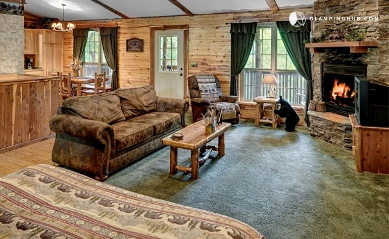 Eureka springs romantic cabin for Cabine eureka ca