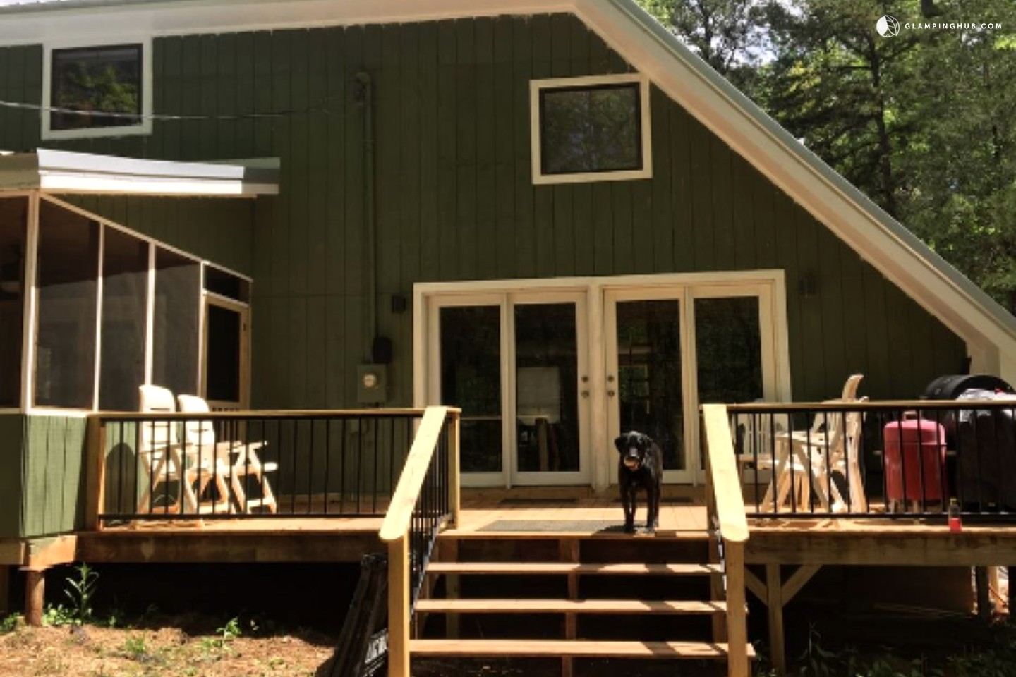 Lakefront Cabin Rental near Columbus, Georgia