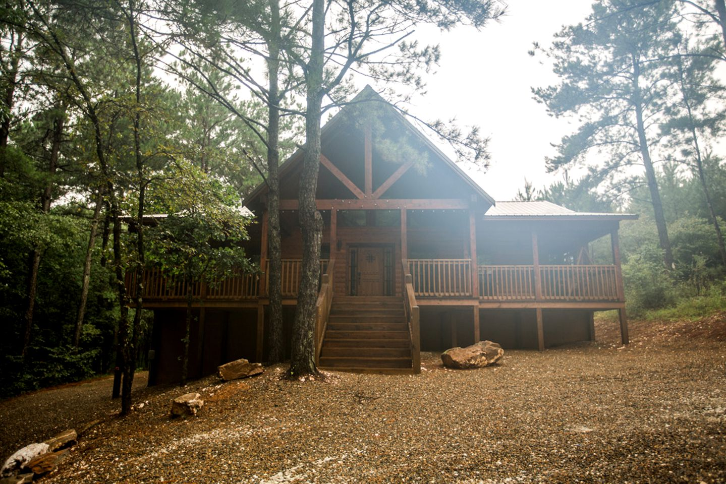 Log Cabins (Broken Bow, Oklahoma, United States)