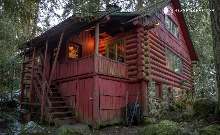 cabins three on of rentals cabin pin mt the hood our budgets all river seclusion for