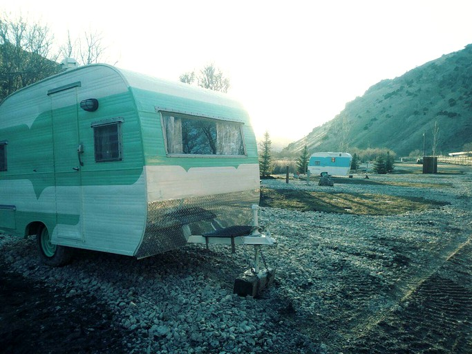 Amazing Campervan for a Luxury Camping Experience near Lava Hot Springs,  Idaho