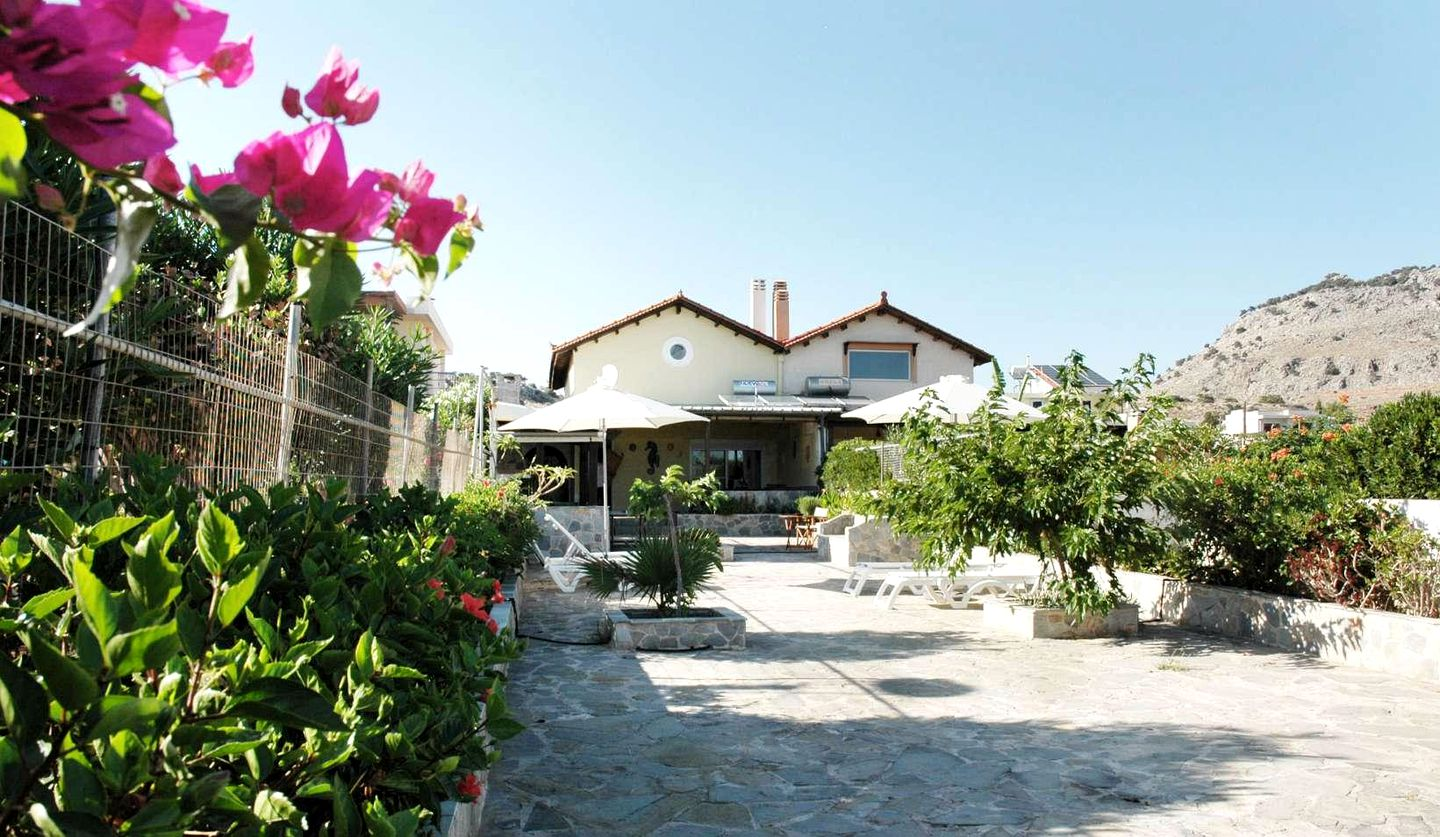 Beachfront Villa Rental in Pefkos, Rhodes