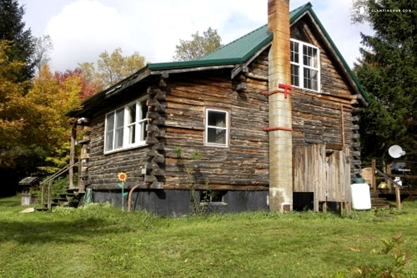 log cabin rental near cooperstown new york
