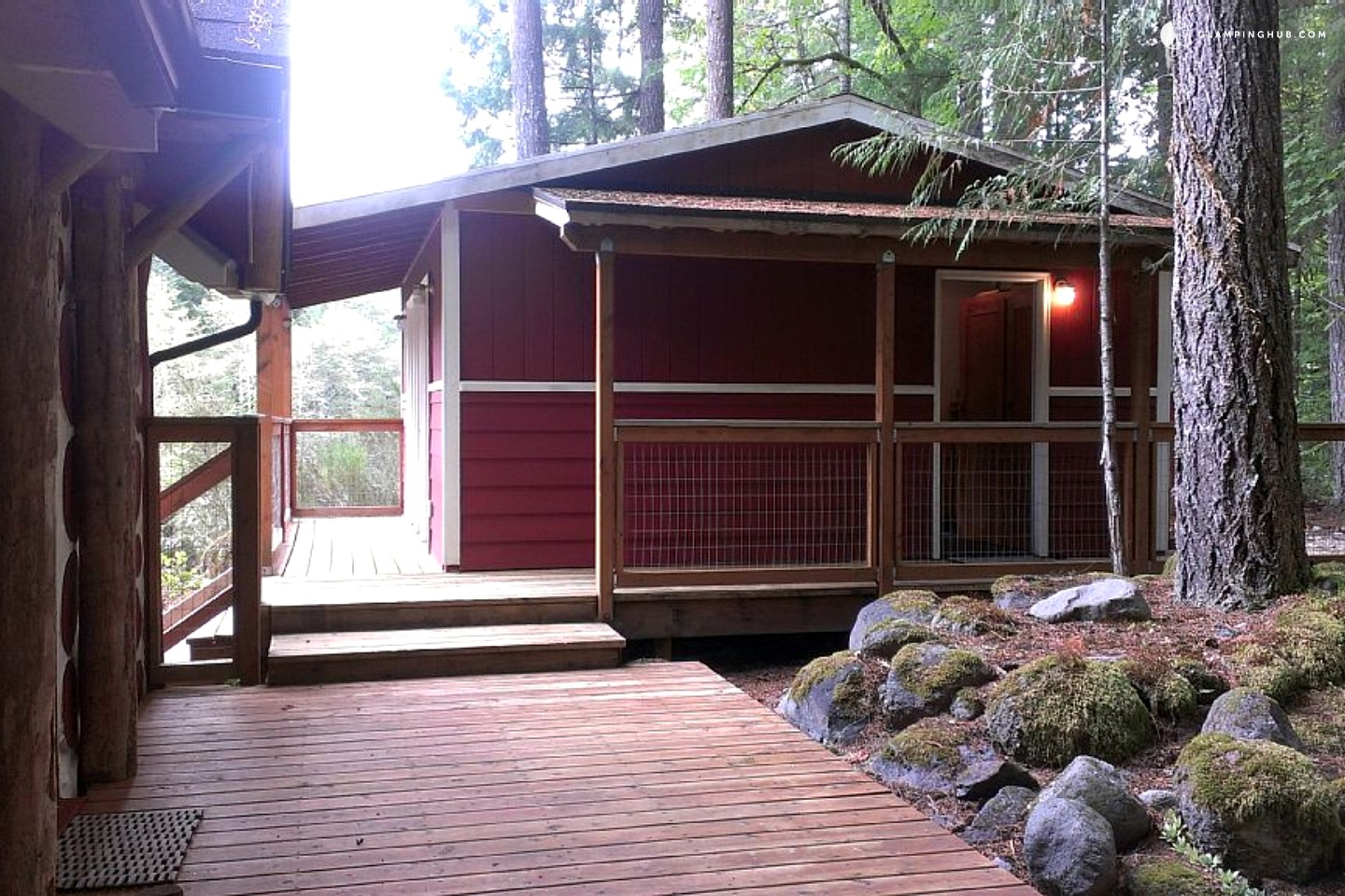 Secluded cabin rental near mt hood oregon for Romantic cabins oregon