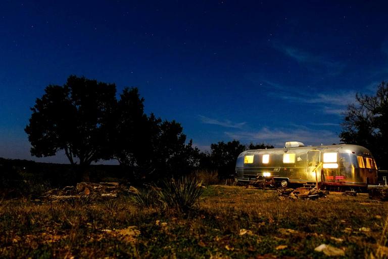 Charming Riverfront Airstream Rental for Getaway near Fredericksburg, Texas