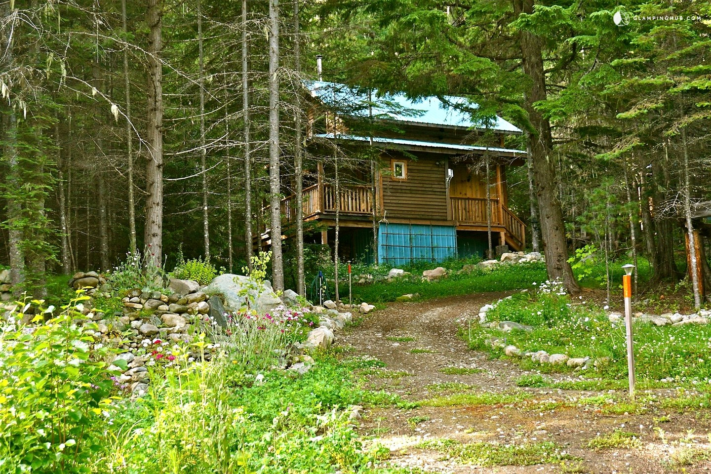 Mountain Cabin In Nelson British Columbia
