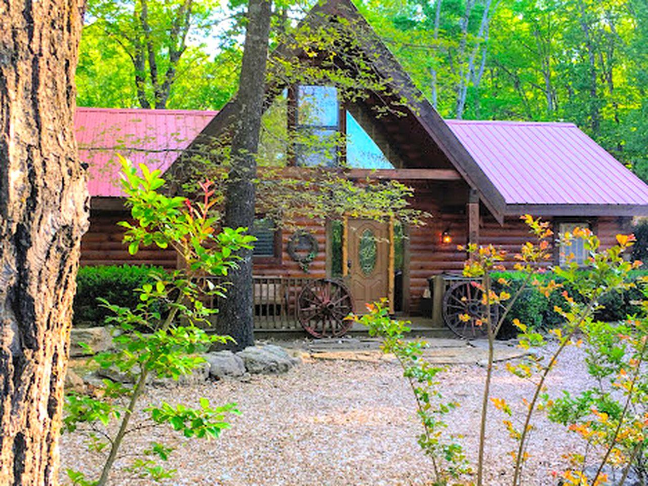 Glamping In California >> Cabin near the Ozark Mountains, Missouri