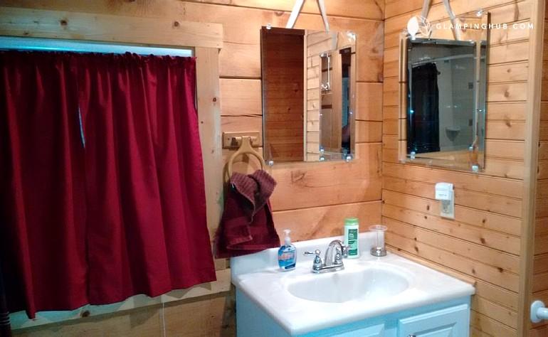 cabin rental near luray caverns virginia