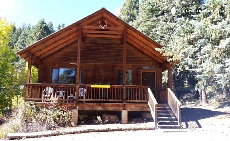 Cabin rental on vallecito lake for Mountain cabin rental colorado