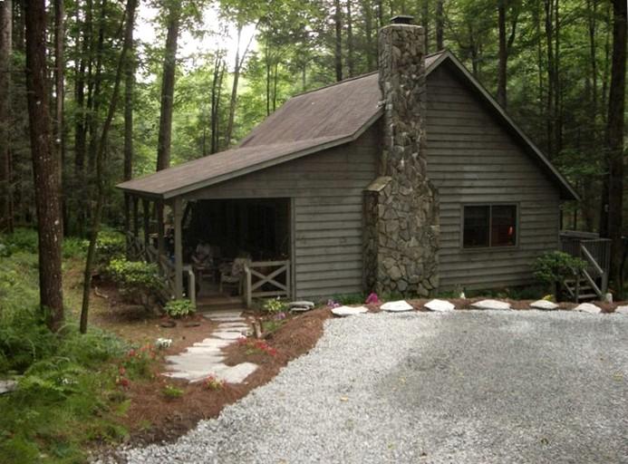 Rustic Cabin Rental In Nantahala National Forest Near Highlands North Carolina
