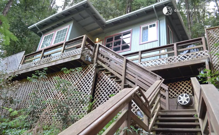 Vacation home rental in california for Russian river cabins guerneville