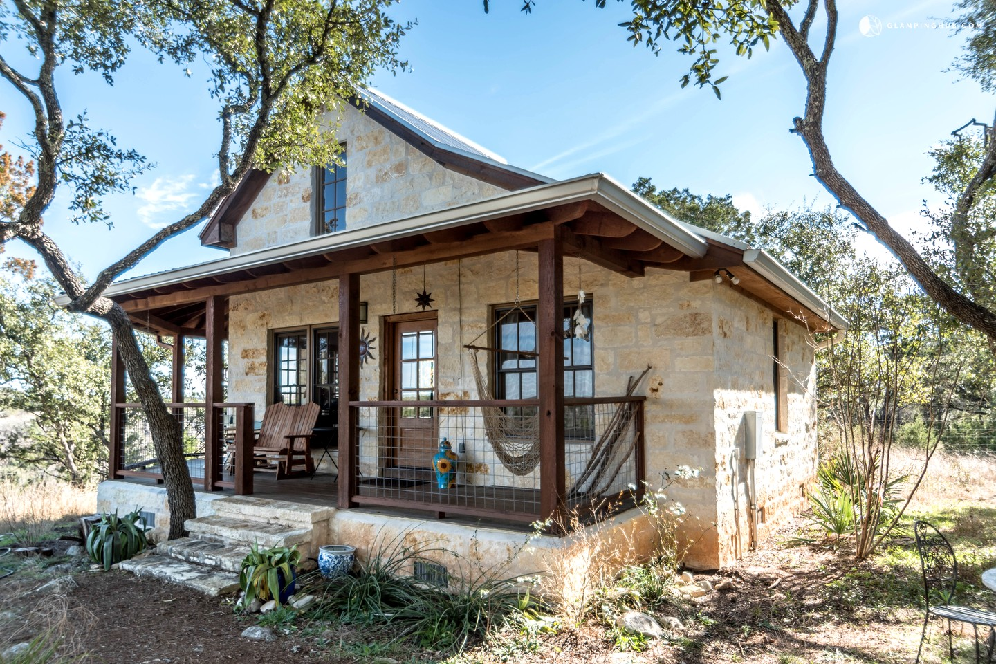Texas hill country cabin for Log cabin plans texas