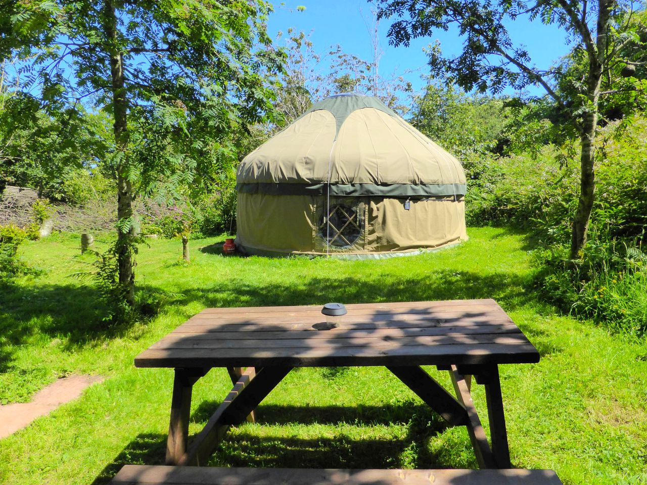Yurts (Anglesey, Wales, United Kingdom)