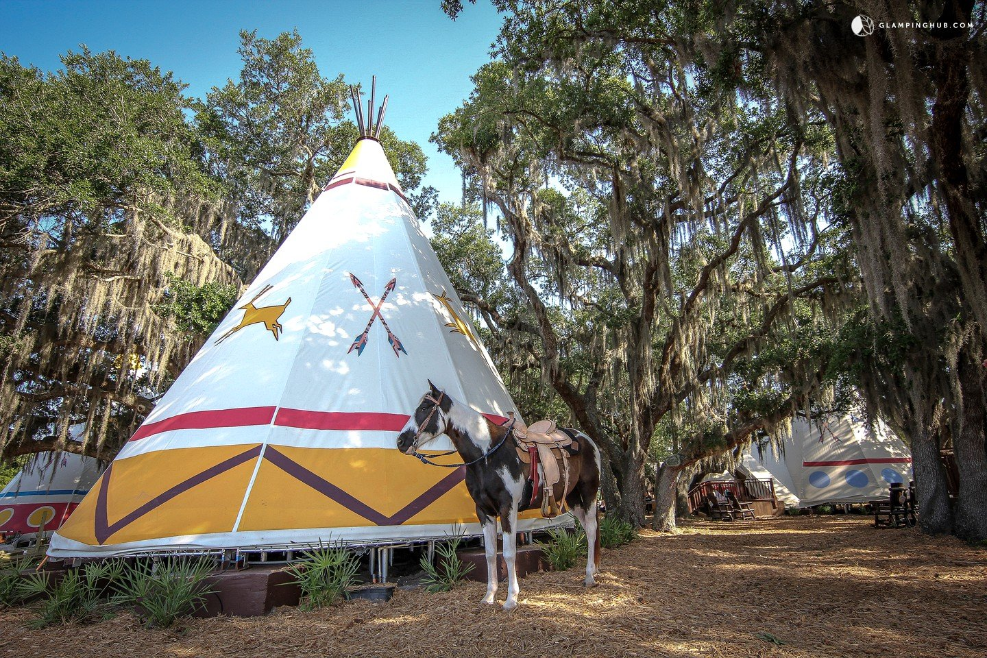 Tipi Rentals On A Ranch In Florida