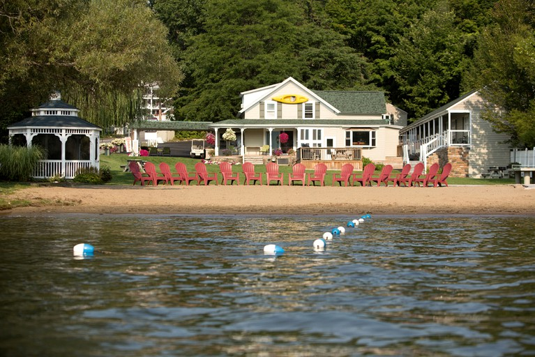Charming Waterfront Suites on Lake George in Upstate New York