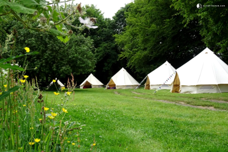 Luxury Bell Tents Near Bath United Kingdom