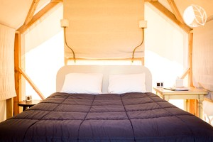 Photo of Luxury Cabin Tents in Pescadero Near San Francisco Bay Area, Northern California