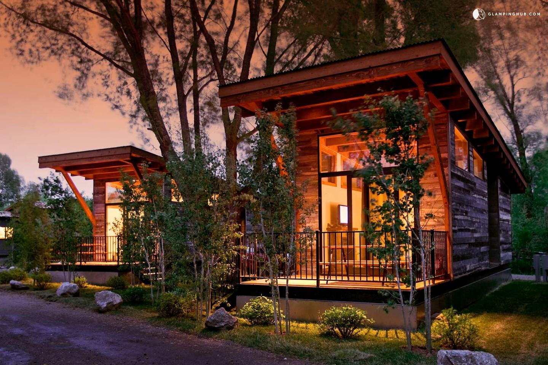 Unique luxury cabins wyoming cabins teton national park for Teton cabin rentals