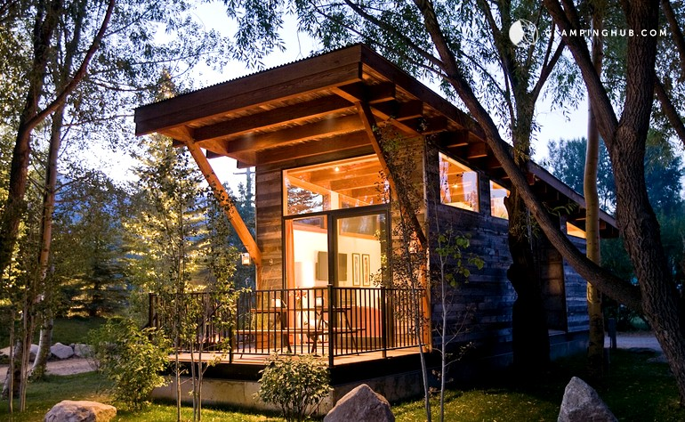 jackson md wyoming slide exterior budges teton cabin all book lake cabins winter hole grand