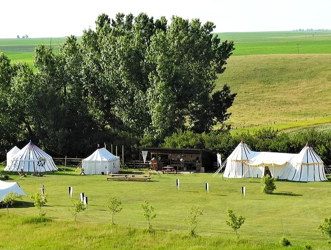 Camping Near Calgary Canada