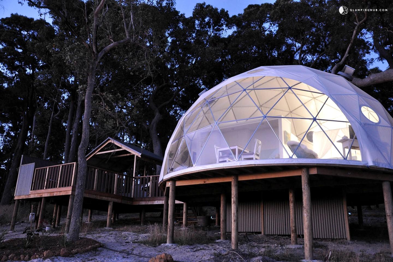 Luxury Dome Camping In Yelverton Western Australia