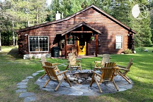 Luxury camping in michigan glamping in michigan for Cabin rentals mackinaw city