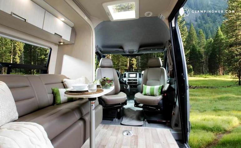 Luxury Campervan Rental In Palm Springs California