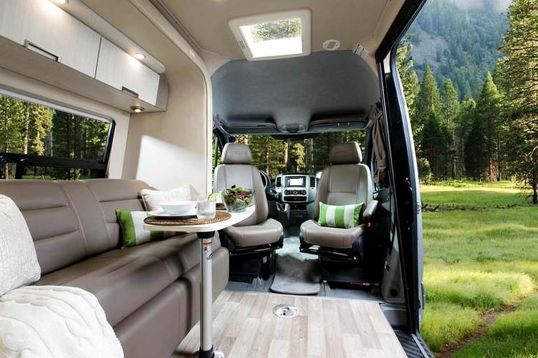 Luxury Campervan Rental In San Francisco Bay Area California