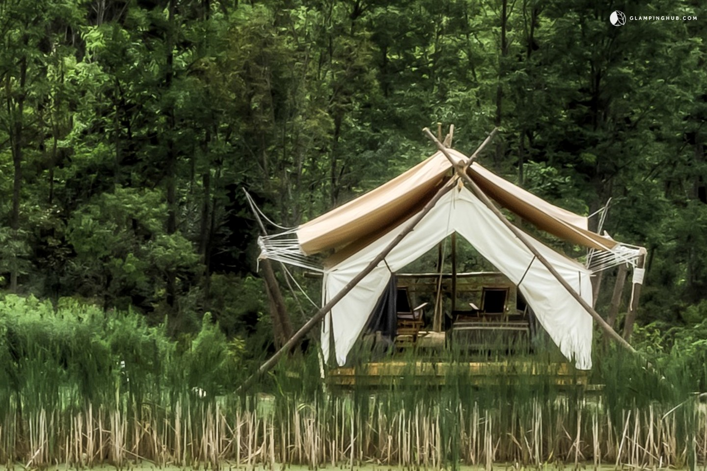 Luxury Safari Tents In Enchanting Finger Lakes Upstate