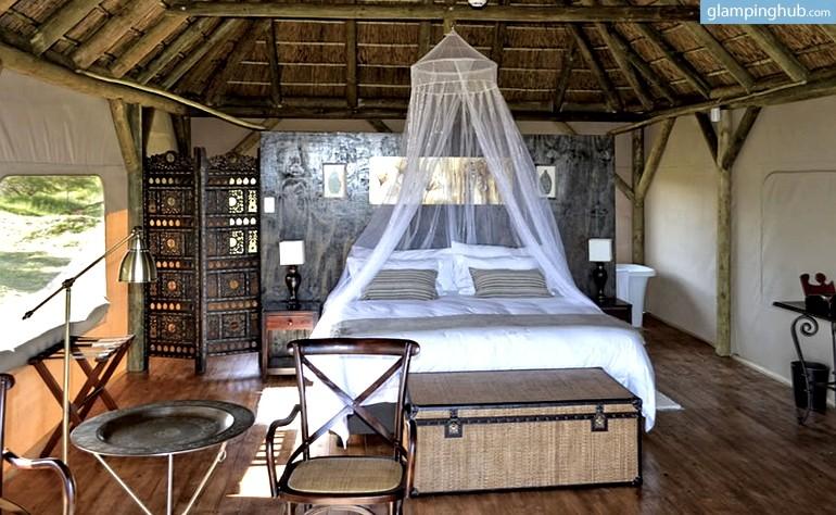 Luxury Safari Tents Near Indian Ocean Safari Tents In