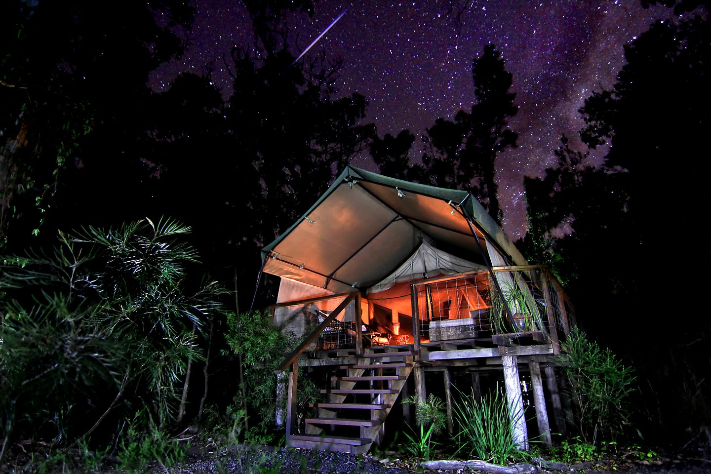Tented Cabins (Woollamia, New South Wales, Australia)
