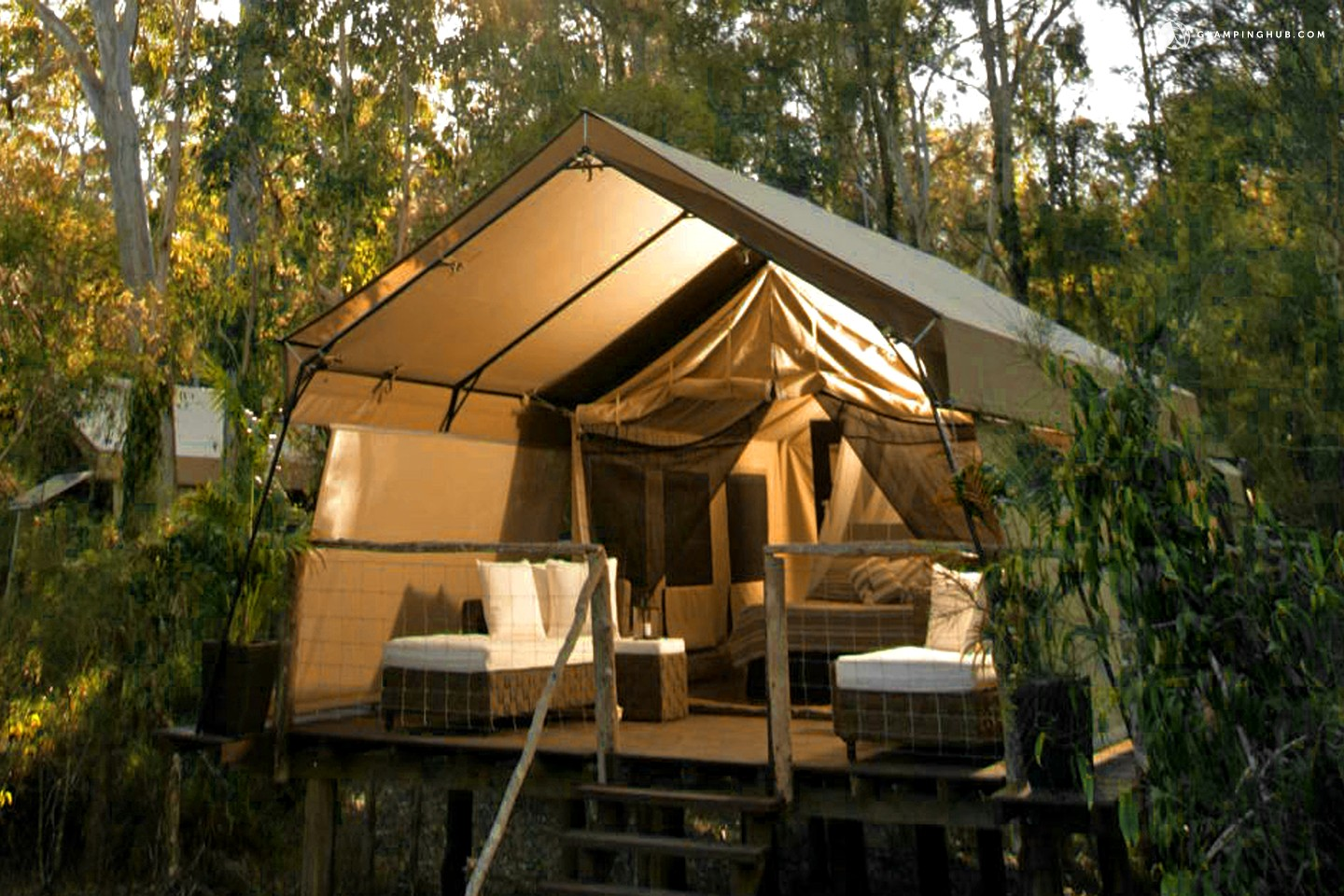 Glamping new south wales luxury camping nsw Tent a house