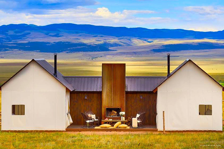 Luxury Tents Colorado Springs Colorado Glamping Hub