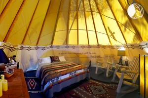 Photo of Luxury Tipi Rental with Breakfast Included for Vacation on Bainbridge Island