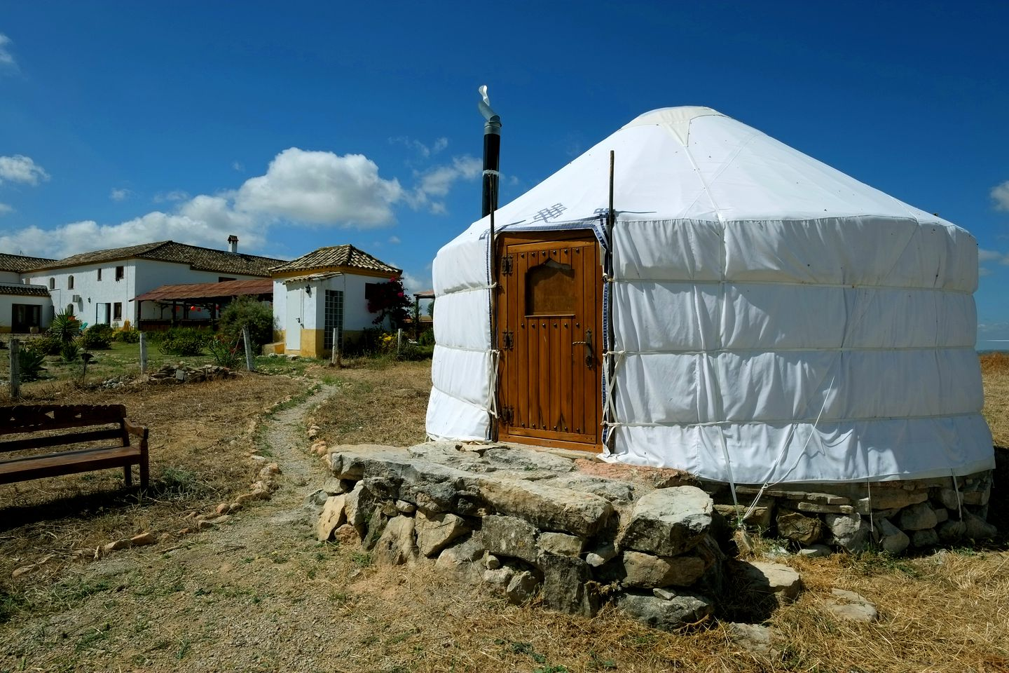 Luxury Yurt At Yoga Retreat In Andalusia Spain