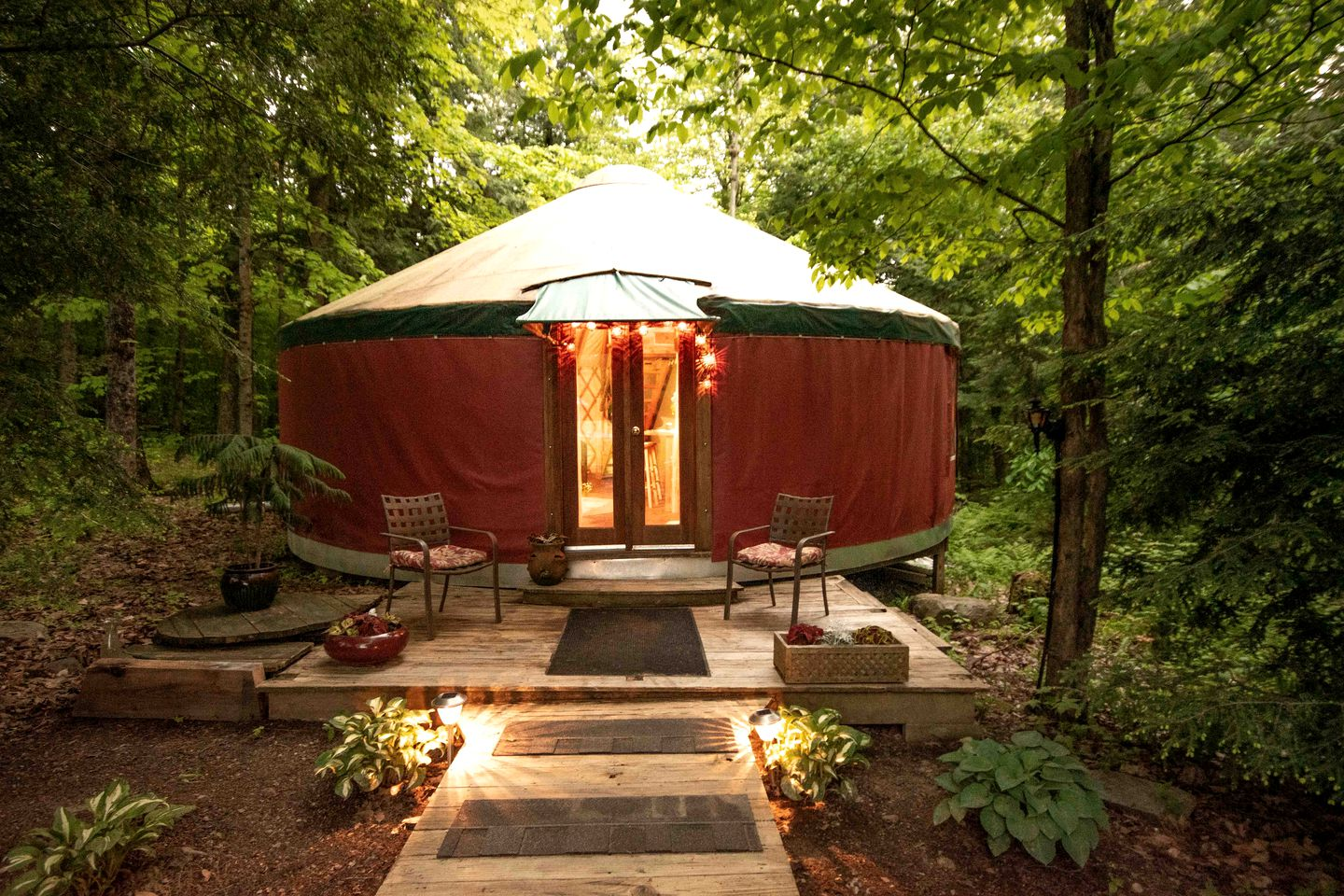 Luxury Yurt Rental Near Bristol Vermont Camping Yurts Experience the unique experience of yurt camping throughout the northwest. luxury yurt rental hidden in the forest near bristol vermont