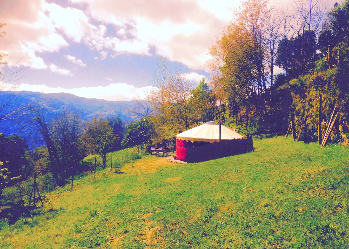 Yurts (Santa Cruz Do Douro, Porto District, Portugal)