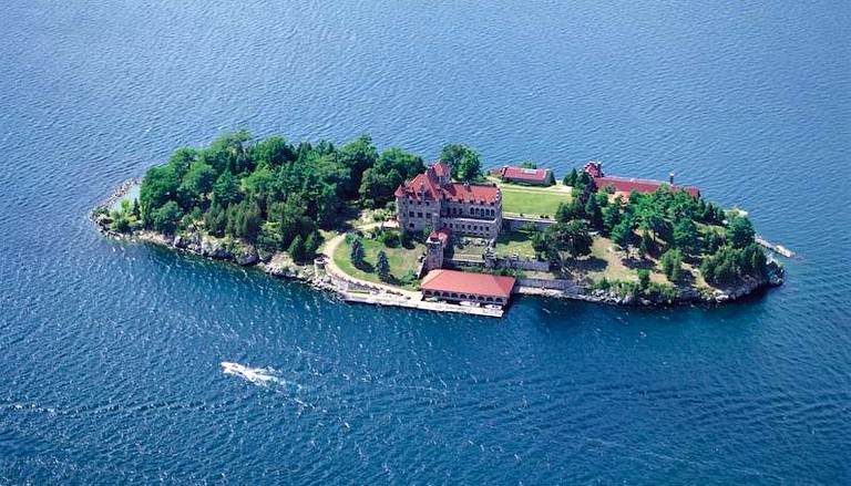 d1765dc8ce9 Magnificent Suite in Historic Castle on Private Island, Chippewa Bay, New  York