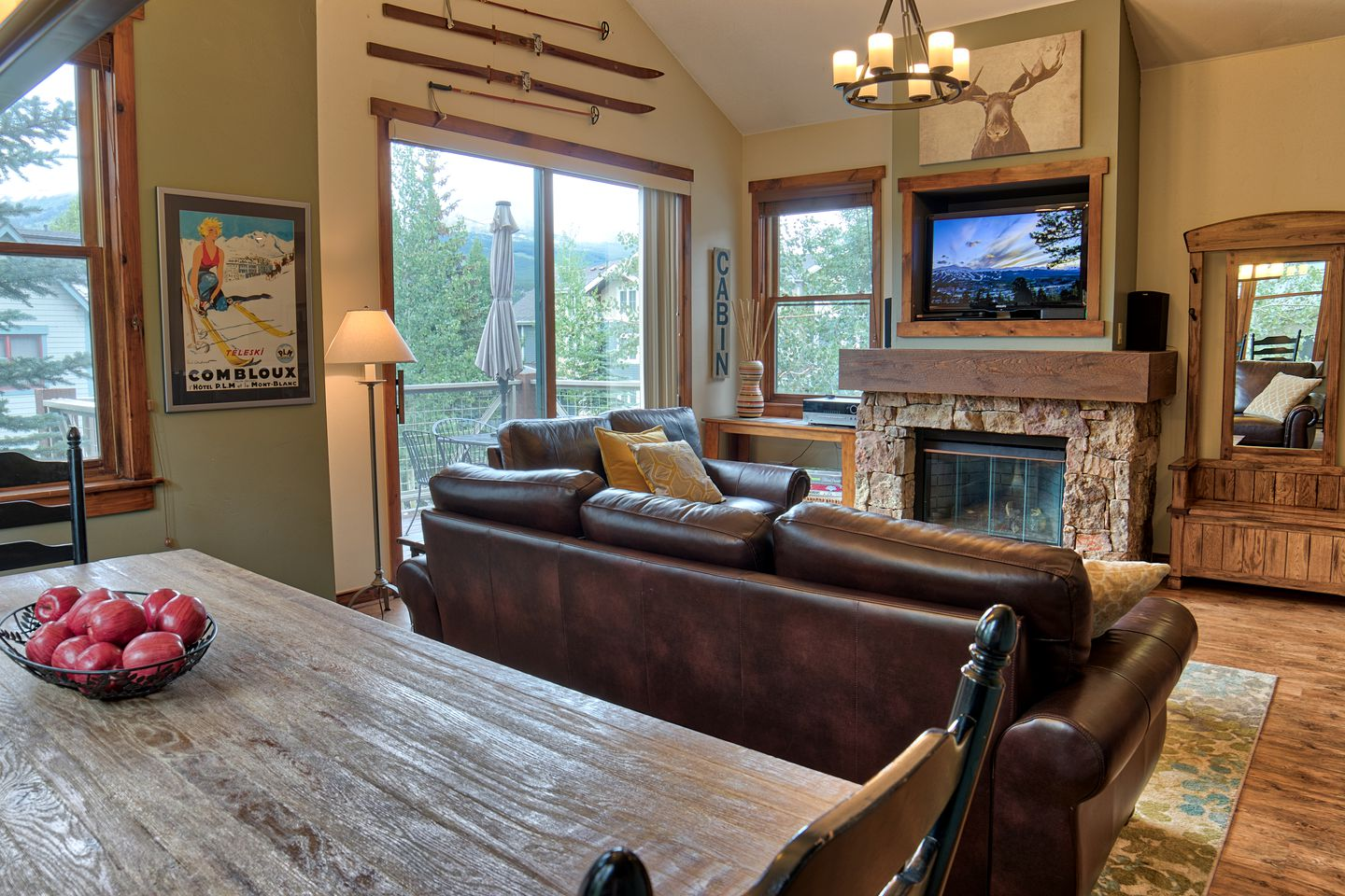 This cabin is ideal for getaways in Breckenridge
