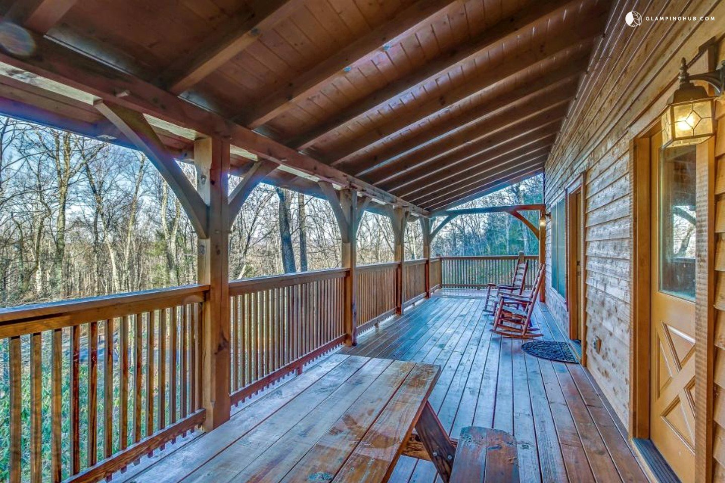 Secluded Cabin In The Woods Near Pigeon Forge Tennessee