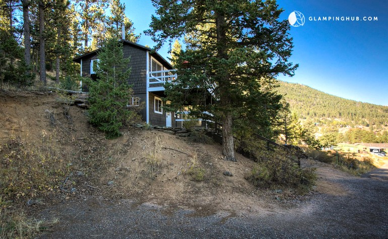 pet friendly cabin estes park colorado