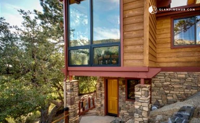 Modern mountain cabin rental near los angeles california for Cabin los angeles