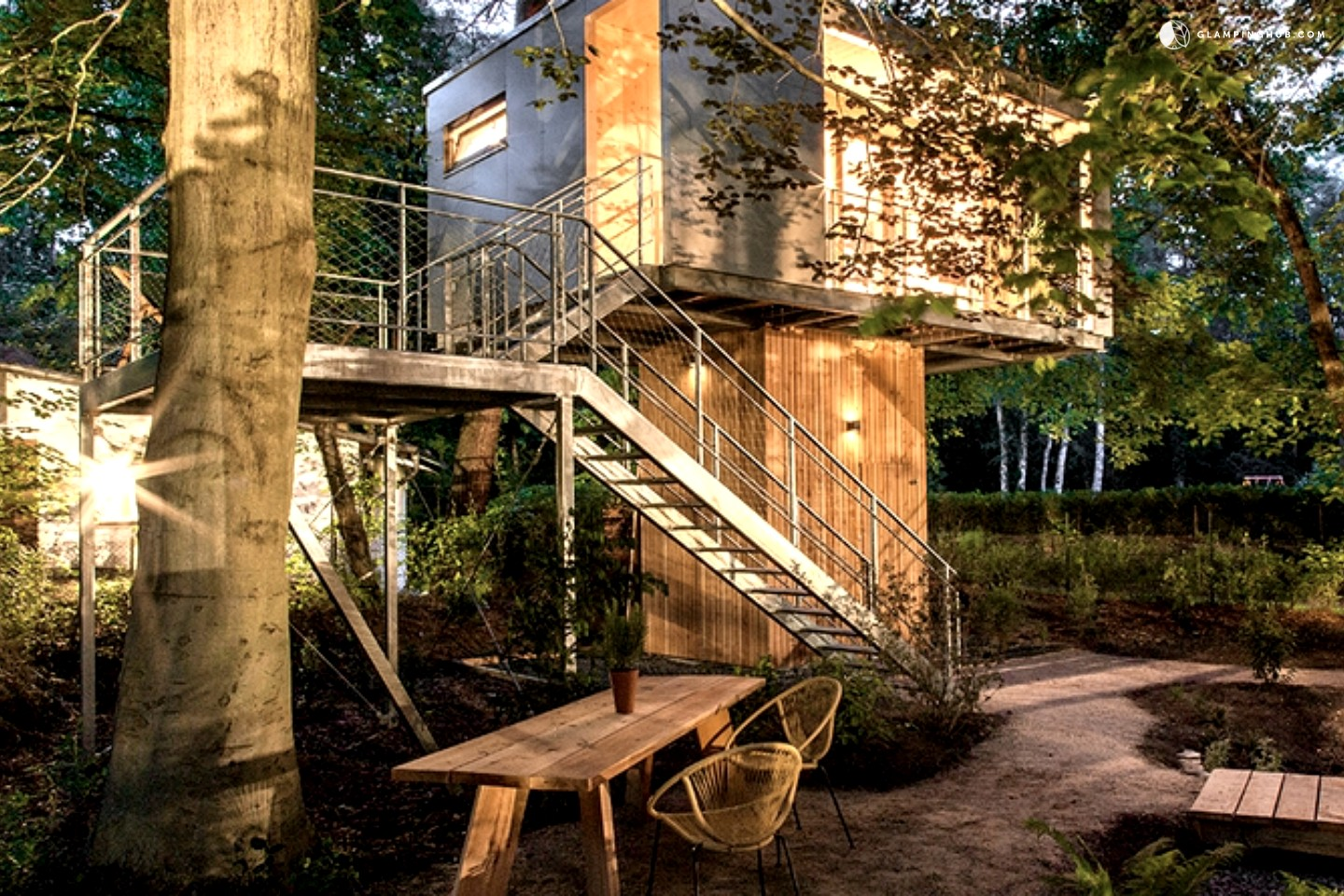 Home germany berlin berlin modern luxury treehouses at the