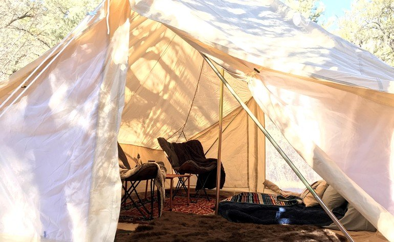 & Pop-Up Glamping in Nevada