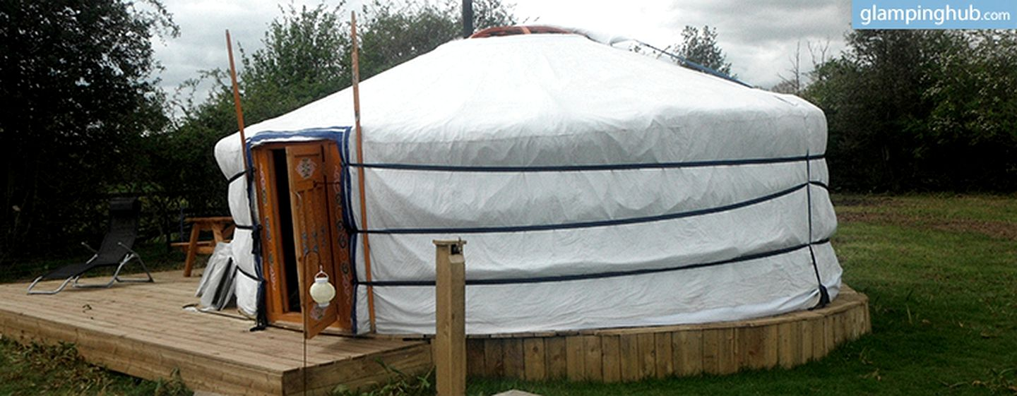 Yurt camping in West Midlands, United Kingdom