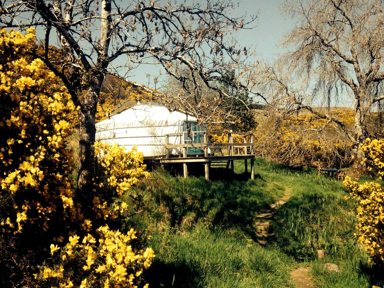 Yurts (Argyll and Bute, Scotland, United Kingdom)