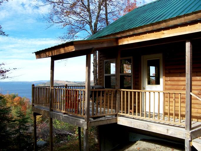 Strange Stunning Cabin Rental With Fireplace On Moosehead Lake Maine Download Free Architecture Designs Scobabritishbridgeorg